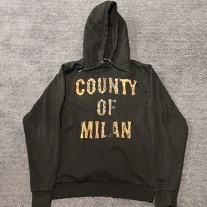 Marcelo Burlon County of Milan Logo Hoodie